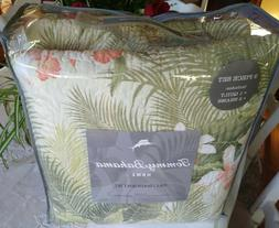 TOMMY BAHAMA $200 NEW Quilt and Shams set QUEEN 3PC COASTAL