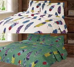 3 piece dream catcher quilt set western