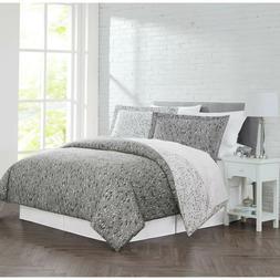 3-Piece KING CAL KING Duvet Cover Set Bedding Sham Comforter