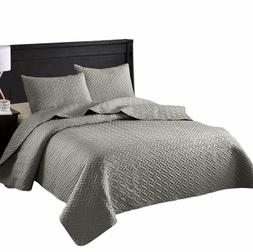 Exclusivo Mezcla 3-Piece King Size Quilt Set with Pillow Sha