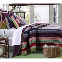 3 Piece King Size Quilt Set Home Fashion Oversized Cotton Ul