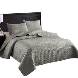 Exclusivo Mezcla 3-Piece King Size Quilt Set with Pillow Sha