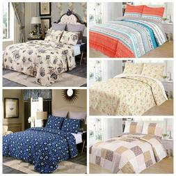 3 piece lightweight quilt set full queen