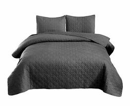 Exclusivo Mezcla 3-Piece Queen Size Quilt Set with Pillow Sh