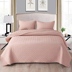 Exclusivo Mezcla 3-Piece Queen Size Quilt Set with Pillow Sh