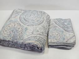 3 piece quilt coverlet bedding set full