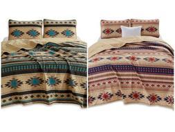 Chezmoi Collection 3-Piece Southwestern Tribal Multi-color Q