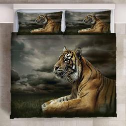 3D Animal Tiger Bedding <font><b>set</b></font> Super <font>