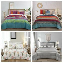 3Pieces Bedspread Coverlet Set Oversized Bed Cover, Ultrason