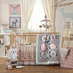 Lolli Living 4-Piece Baby Bedding Crib Set with Sparrow Patt