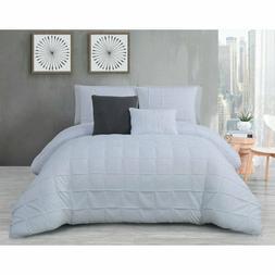 Avondale Manor 5-Piece KING Comforter Set Madison White B994