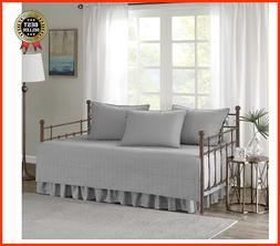 5 Pieces Daybed Bedding Cover Set Comforter Type Stitched Qu