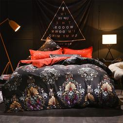 5 Pieces Luxury Royal Dynasty Bedding Comforter Set Bed In A