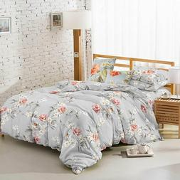 6 Pieces Bed Set Embroidered Four Seasons FULL&QUEEN  Size B