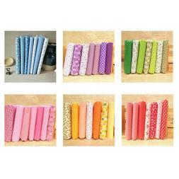 7 Pieces Assorted Fat Quarter Bundle Quilt Quilting Cotton F