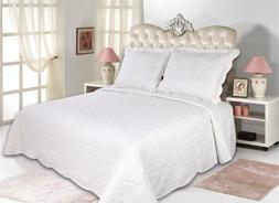 All for You 3pc Reversible Quilt Set, Bedspread, and Coverle