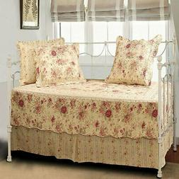 Antique Rose 5 Piece Daybed Set
