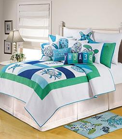Meridian Waters Full/Queen Quilt by C & F
