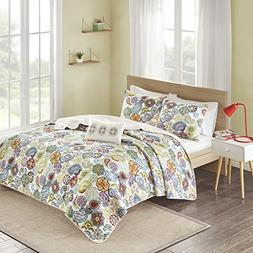 Mi-Zone Tamil Coverlet Mini Set, King/ California King, Mult