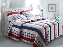 Nautical Stripe Multi Quilt Set, 2-Piece Twin