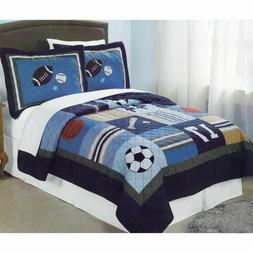 PEM America All State Multicolor Quilt Set - Full