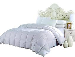 Royal Hotel's Queen Size Light Down-Comforter 650-Fill-Power
