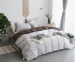 Kasentex Quilted Ultra Soft Comforter Set Reversible.Duvet I