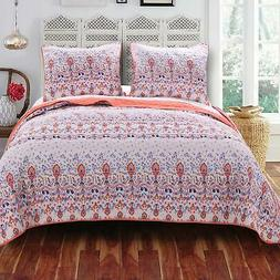 Barefoot Bungalow Amber Quilt and Sham Set