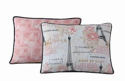 Avondale Manor Amour 5-Piece Quilt Set, Queen, Pink