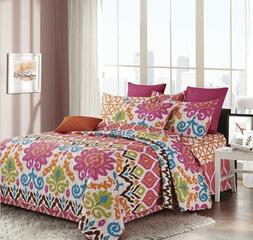 Virah Bella Anisa Printed Quilt and Sham Set