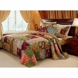 Greenland Home Fashions Antique Chic - Quilt Set Includes Bo