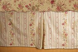 Greenland Home Antique Rose Bed Skirt, Twin