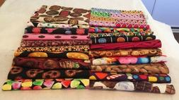 Awesome CANDY JAR Snack Jar Junk Food Sweets Quilt Fabric Se