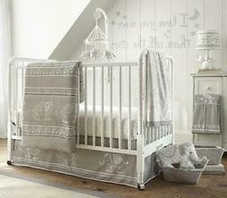 Levtex Baby Baby Ely Grey 5 Piece Crib Bedding Set Crib Fitt