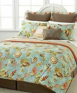 Pem America Barbado 6 Pcs Comforter Set Twin Coastal Sea She