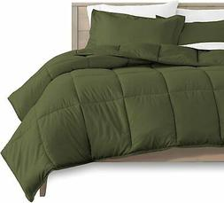 Bare Home Twin/Twin Extra Long Comforter Set - Goose Down Al