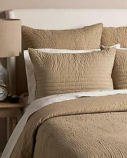 Be-You-tiful Home 3 Piece Basic Quilt Set, Queen, Khaki