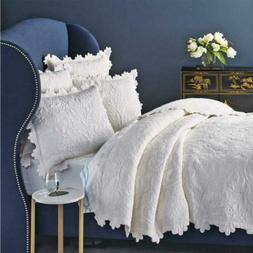 Be-you-tiful Home Kayla Quilt Set, Over Size King, Ivory