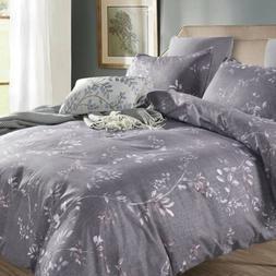 Bedding Set Pillowcases Print Duvet Quilt Cover Bedclothes M