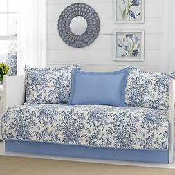 Laura Ashley Bedford Daybed Set, Twin, Delft