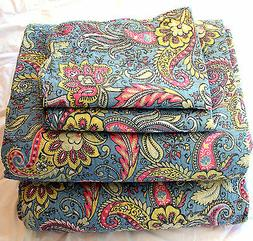 Bedspread 4 Pieces Set  Cotton Quilted Bedspread Quilt Cover