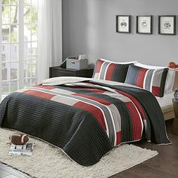 Comfort Spaces Bedspreads Queen Size Mini Quilt Set - Casual