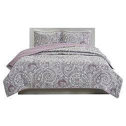Comfort Spaces Bedspreads Queen Size Mini Quilt Set - Fashio