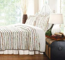 Greenland Home Bella Ruffle Quilt Set, King