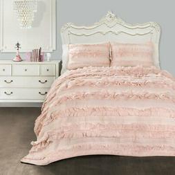 Belle Quilt Set by Lush Decor