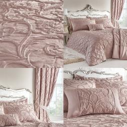 BENTLEY Traditional Jacquard Duvet Cover/Quilt Cover Set Bed