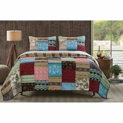 Bohemian Dream Quilt Set by Greenland Home