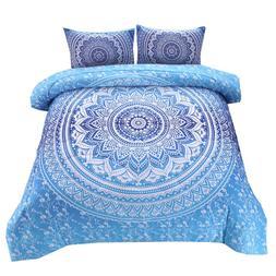 Bohemian Mandala Comforter <font><b>Set</b></font> Queen <fo