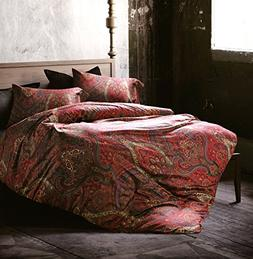 Boho Paisley Print Luxury Duvet Quilt Cover and Shams 3pc Be
