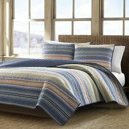 Brand New Eddie Bauer Cotton Quilt Set, Yakima Valley, Full/